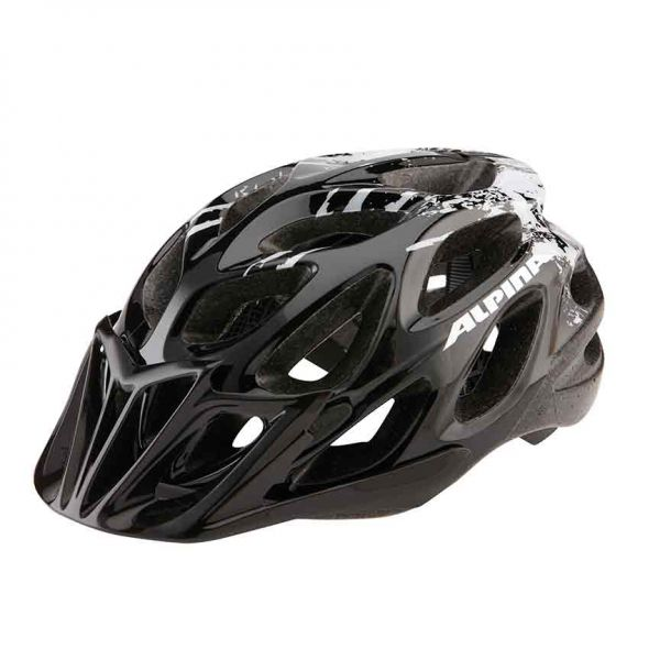 Alpina THUNDER Fahrradhelm black/white