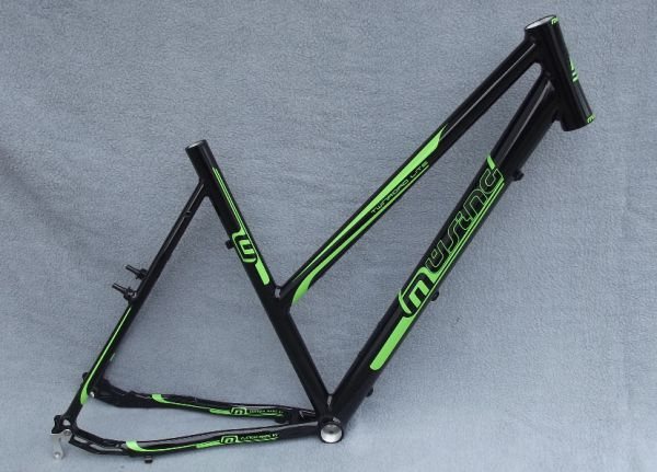 Müsing Twinroad Light Damen Rahmen 28 Zoll schwarz/grün
