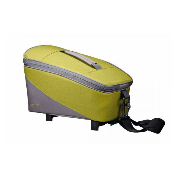 Racktime System Fahrrad Gepäckträger Tasche Talis grün/grau