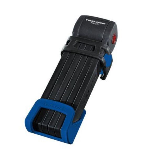 TRELOCK Faltschloss FS 300 Trigo 85 cm blau