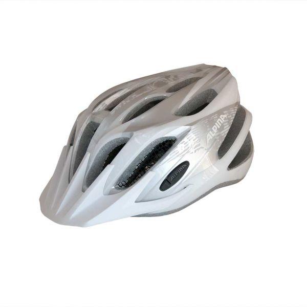 Alpina Tour 2.0 Fahrradhelm white/silber