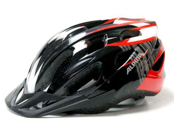 Alpina MTB 14 Fahrradhelm black/lred/white