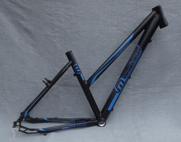 Müsing Twinroad Light Damen Rahmen 28 Zoll schwarz/blau