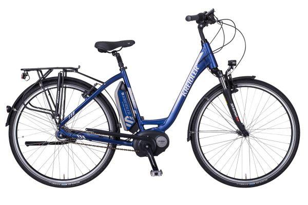 Kreidler E-Bike Vitality Eco 2 (Wave, 28 Zoll) mit Boschantrieb Powerpack 400 Wh mit Rücktritt